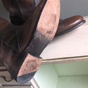 Frye Shoes - Frye brown riding boots size 8